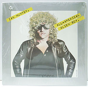 レコード画像:IAN HUNTER / All American Alien Boy