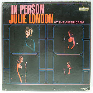 レコード画像:JULIE LONDON / In Person At The Americana