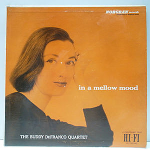 レコード画像:BUDDY DeFRANCO / In A Mellow Mood