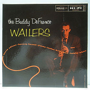 レコード画像:BUDDY DeFRANCO / The Buddy DeFranco Wailers