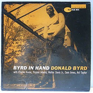 レコード画像:DONALD BYRD / Byrd In Hand