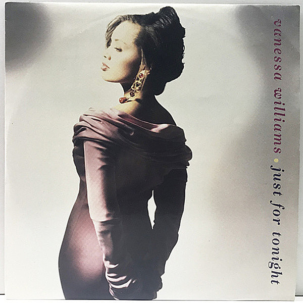 レコードメイン画像:【BILL WITHERS/Whatever Happensカヴァー収録】良品!! 12インチ UKオリジナル VANESSA WILLIAMS Just For Tonight ('92 Polydor) REMIX