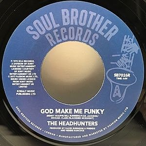 レコード画像:HEADHUNTERS / God Make Me Funky / If You've Got It, You'll Get It
