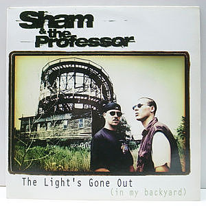 レコード画像:SHAM & THE PROFESSOR / The Light's Gone Out (In My Backyard)