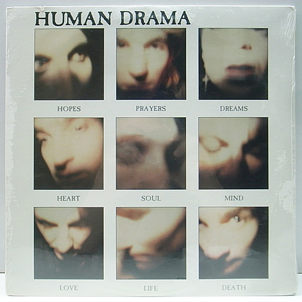レコードメイン画像:'89年 希少アナログ 未開封 HUMAN DRAMA Hopes Prayers Dreams Heart Soul Mind Love Life Death / IAN BROUDIE GOTH ROCK