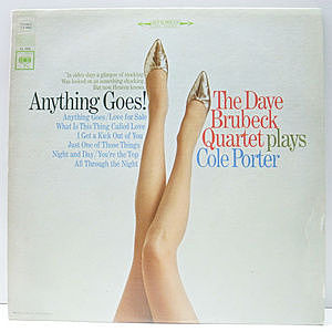 レコード画像:DAVE BRUBECK / Anything Goes!