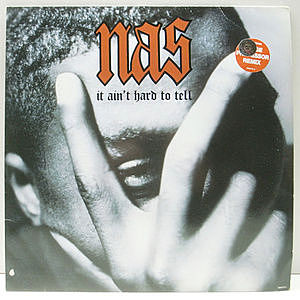 レコード画像:NAS / It Ain't Hard To Tell
