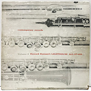 レコード画像:HOWARD RUMSEY / Howard Rumsey's Lighthouse All-Stars Volume 4
