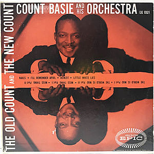 レコード画像:COUNT BASIE / The Old Count And The New Count