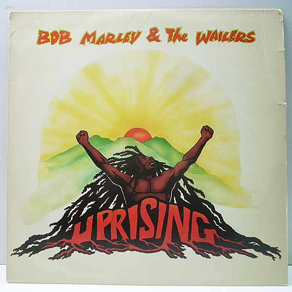 レコードメイン画像:良品!! STERLING刻印 USオリジナル BOB MARLEY & THE WAILERS Uprising ('80 Island) ラスト作 Pimper's Paradise, Could You Be Loved 他