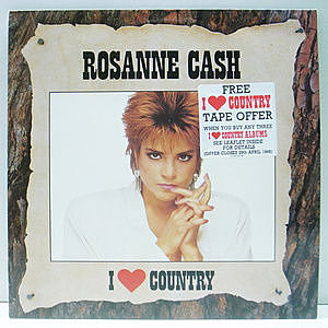 レコード画像:ROSANNE CASH / I Love Country