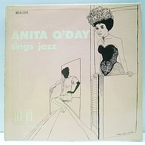 レコード画像:ANITA O'DAY / Sings Jazz