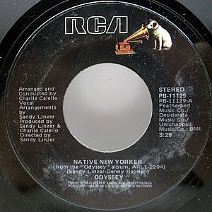 レコード画像:ODYSSEY / Native New Yorker
