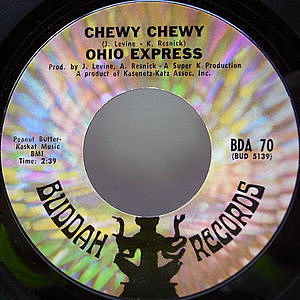 レコード画像:OHIO EXPRESS / Chewy Chewy / Firebird