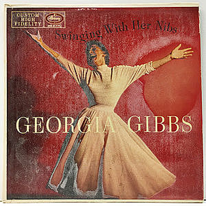 レコード画像:GEORGIA GIBBS / Swinging With Her Nibs
