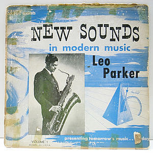 レコード画像:LEO PARKER / New Sounds In Modern Music, Volume 1
