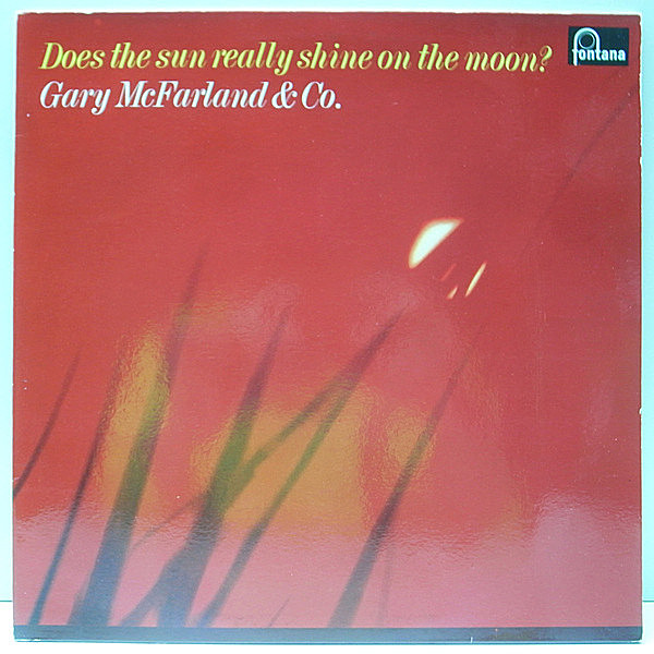 レコードメイン画像:美品 ニス引き HOLLAND 蘭オリジナル GARY McFARLAND Does The Sun Really Shine On The Moon? Richard Davis, Jerome Richardson ほか