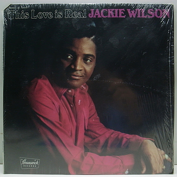 レコードメイン画像:w/shrink 美品 Brunswick Orig JACKIE WILSON This Love Is Real